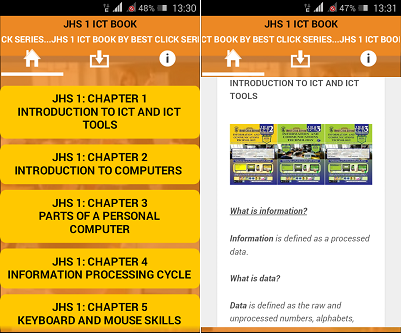 best click series android jhs 1 book app bece pasco for android past questions 1