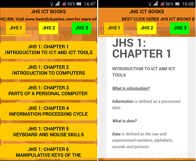 best click series ict books for jhs 1 jhs 2 jhs 3 for ghana schools bece
