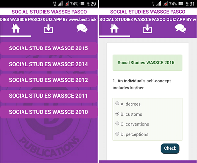 best click series wassce apps social studies wassce best ict books in ghana 1