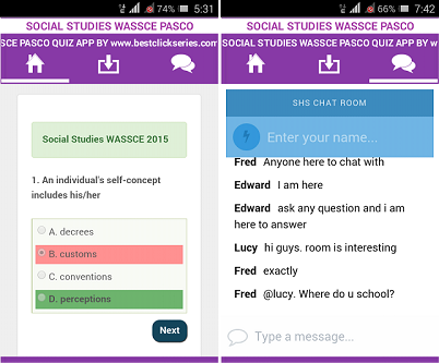best click series wassce apps social studies wassce best ict books in ghana 3